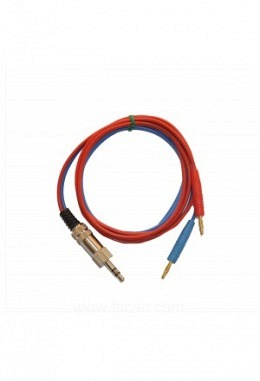 FTB308   Kabel 3.5mm to 2x2mm red blue